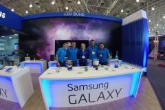 Stand da Samsung na Fiam