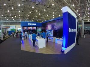 Produção de Stand - Samsung (Fiam) (1)