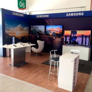 Stand da Samsung – 160º CONFAZ