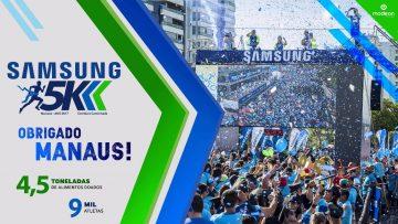 Corrida Solidária Samsung 5k 2017